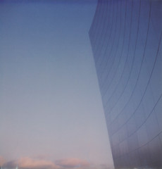 Disney Concert Hall Sky Blue Pink