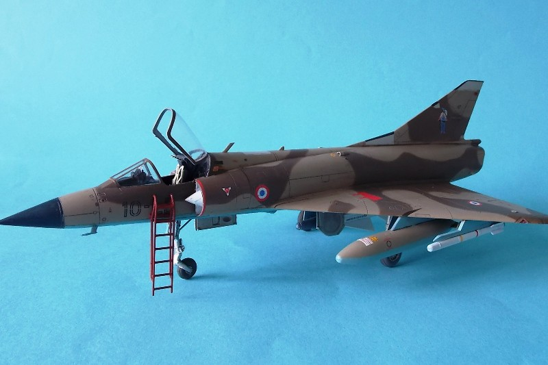 Mirage IIIC 048 Eduard 32 Finished