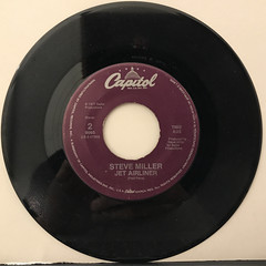 STEVE MILLER:TAKE THE MONEY AND RUN(RECORD SIDE-B)