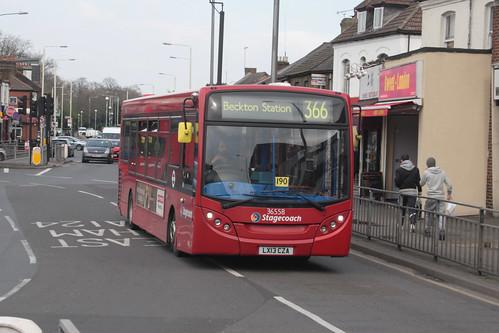 Stagecoach London 36558 LX13CZA