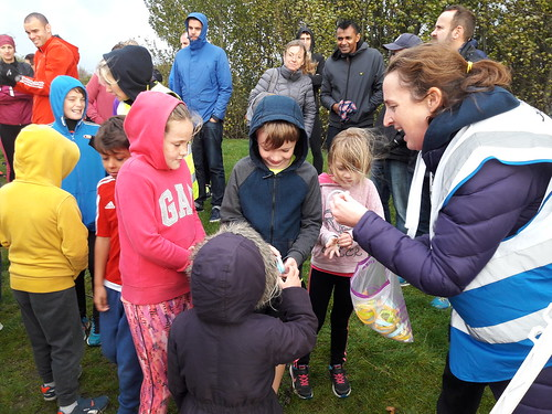 Gedling junior parkrun 22nd oct 17