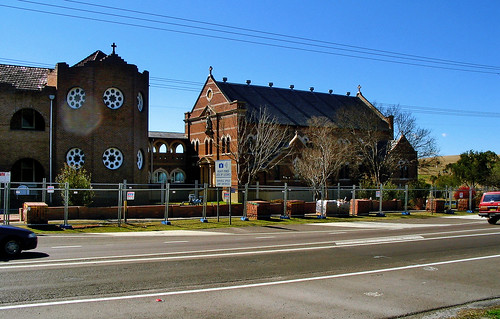 August 2004 - St Joseph's Catholic College buildings, Lochinvar, New South Wales, Australia