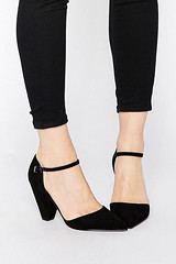 Asos Speaker pointed heels, black