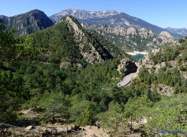 Solsonès 2017 - Exc 02 - Plans de Peà i Amagats Camíns -07- Pista a Sant Llorenç De Morunys por la Collada de les Cases -09- Fin de Trayecto