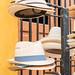 hats in Calle 59, Campèche por bruno vanbesien