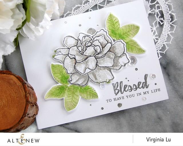 Altenew_BAF_Gardenia_Virginia #3