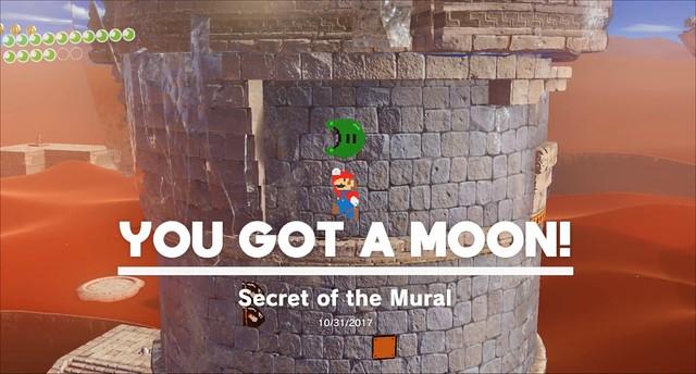 Super Mario Odyssey - Hidden 8-Bit Power Moon
