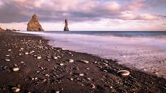 The black sand beach - Iceland - Travel photography