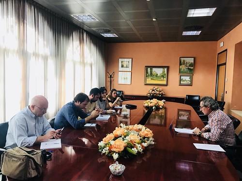 Rueda de prensa de la junta de gobierno del Ayuntamiento de Dos Hermanas