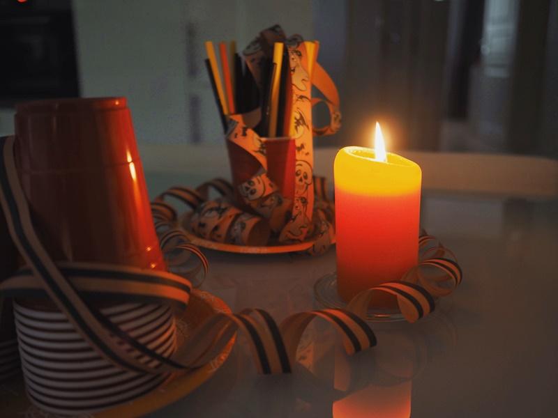 halloween-koristelua