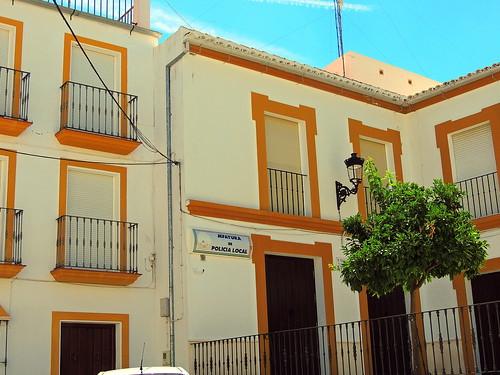 <Jefatura Policía Local> El Saucejo (Sevilla)