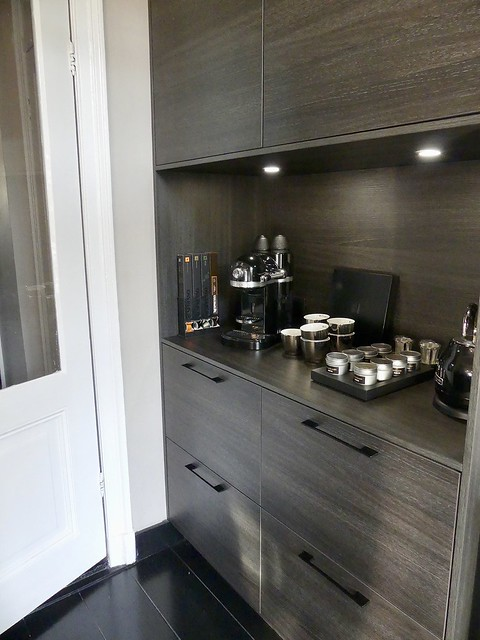 Keuken strak zwart