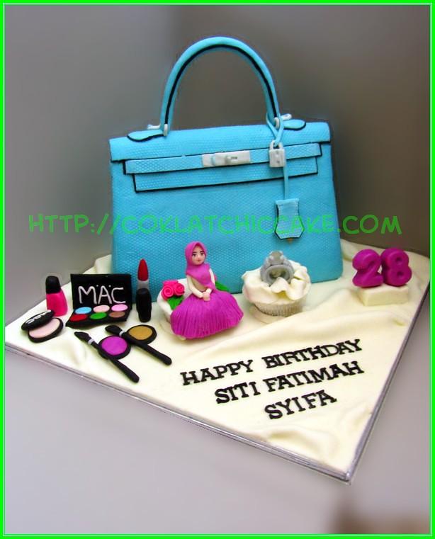 Cake Branded bag Siti Fatimah