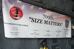 Banner for 709th Airlift Squadron: