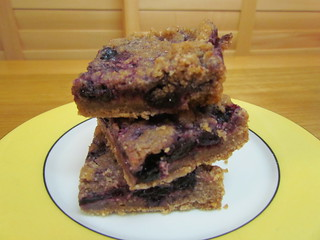 Blueberry Spice Crumb Bars