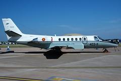 Spanish Air Force Citation Ultra TR.20-01 RIAT 2005 at RAF Fairford