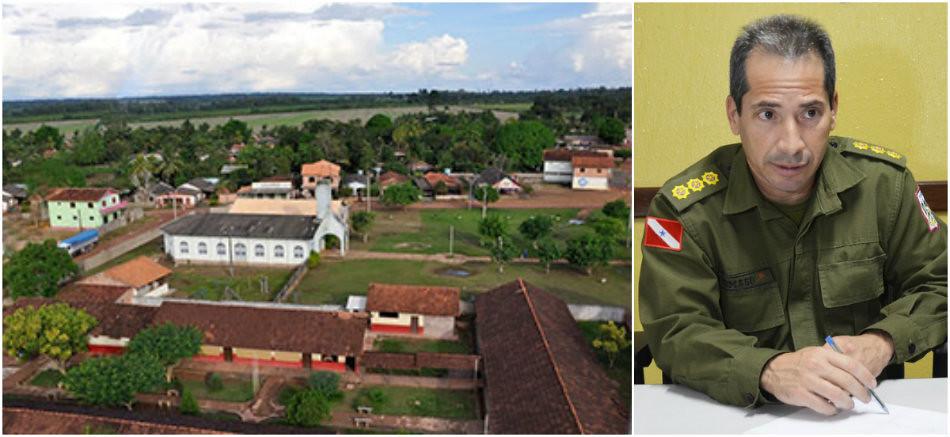 PM cria Posto Policial Destacado no distrito de Boa Esperança, Boa Esperança e coronel Tomaso