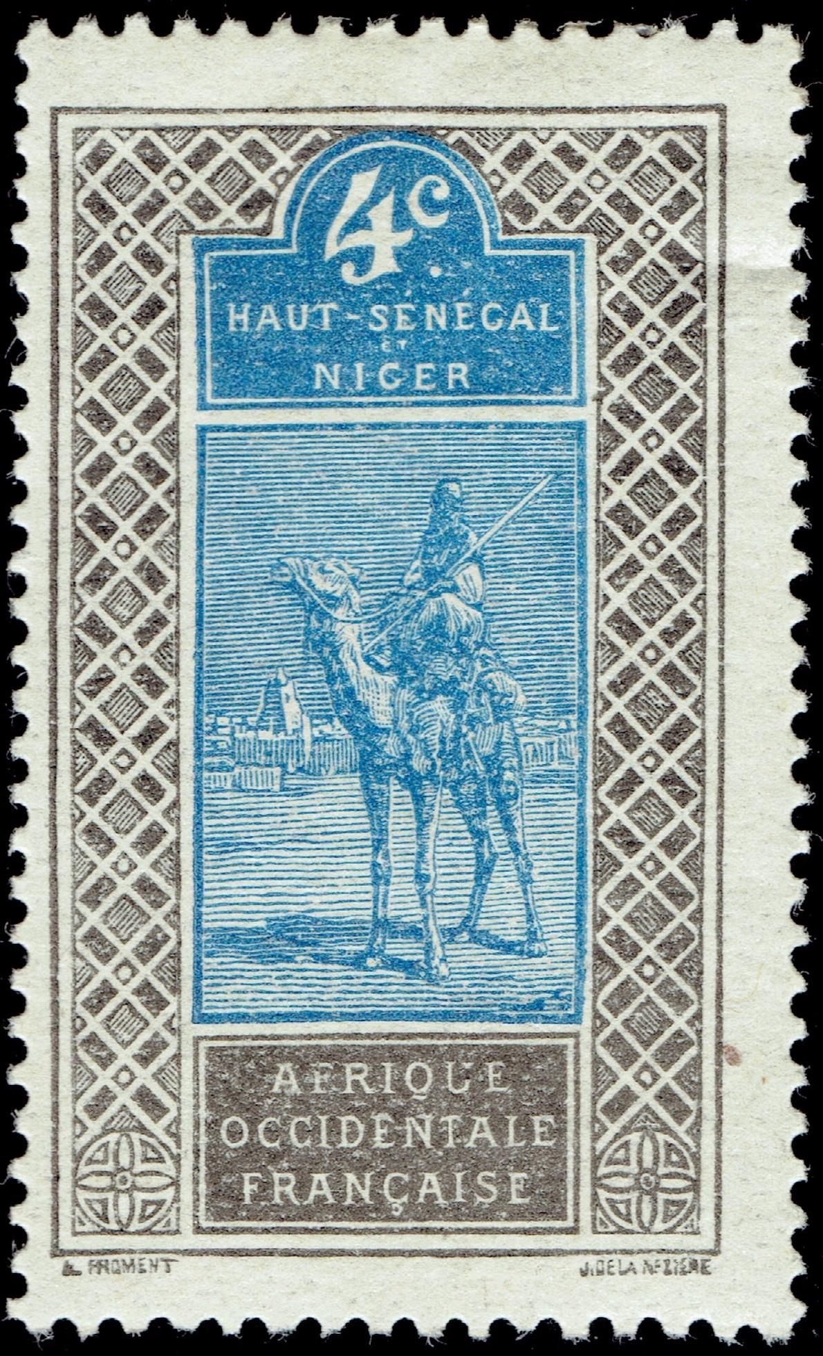 Upper Senegal & Niger - Scott #20 (1914)