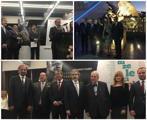"""Inauguración de la exposición """"La reconstrucción del ser"""""""