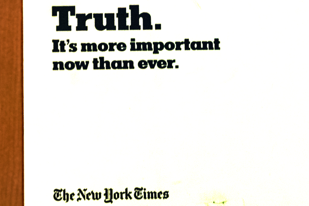 Truth. It's more important now than ever--Manhattan (detail)