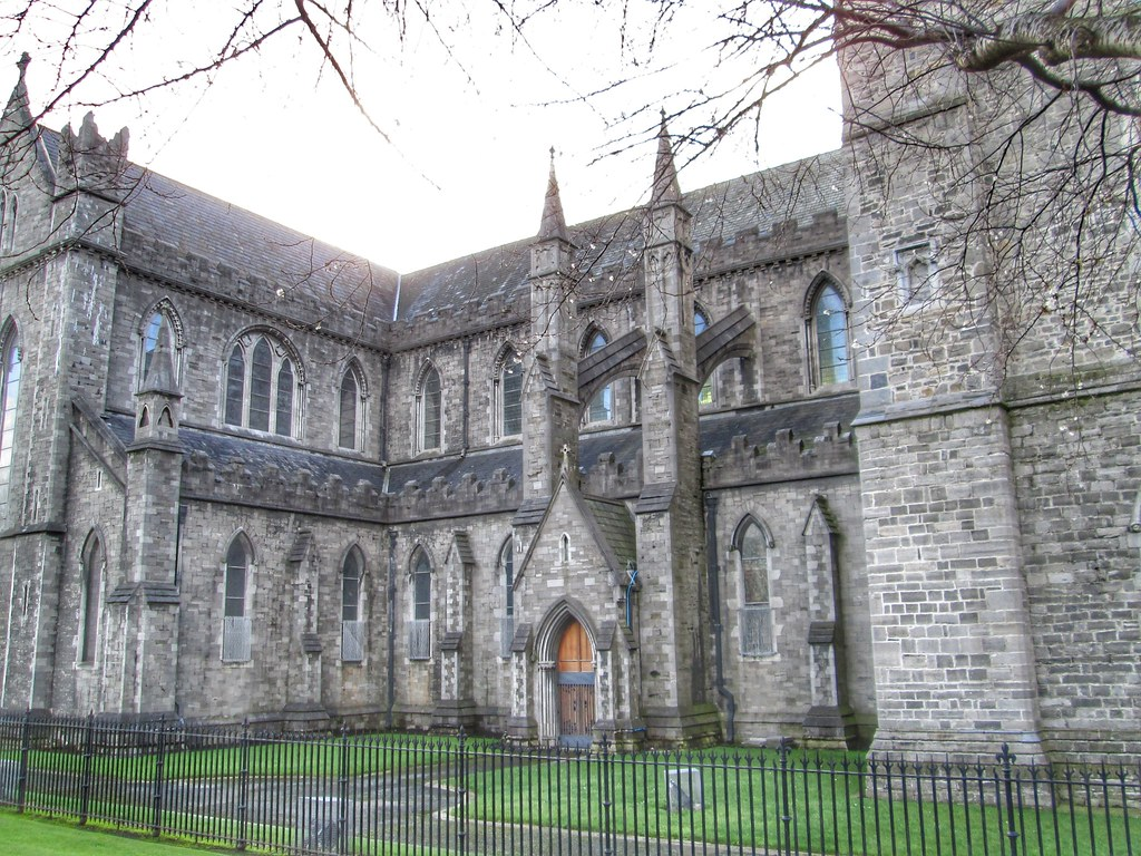 St Patricks Cathedral Dublin exterior 1