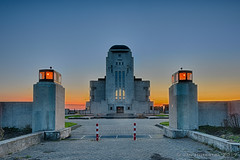 Sunset @ Radio Kootwijk (HDR)