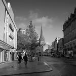 Scene in centre of Preston