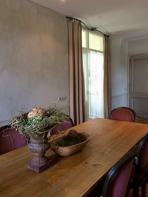 Eetkamer landelijk antiek
