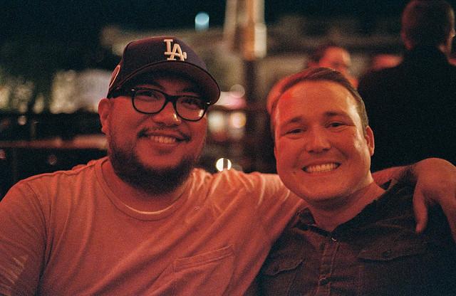 Sherwyn and his buddy John