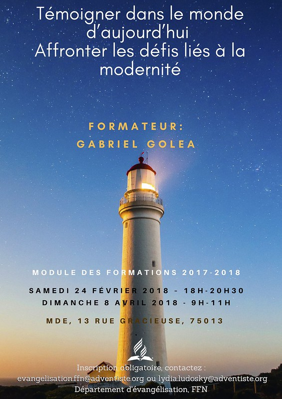 Affiche Formation G Golea