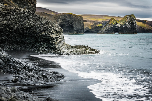 hvalvík whales bay baie des baleines baleine is islande islandia islanda iceland north nord northiceland basalt basaltic column sea seaside 2017 sony a7rii