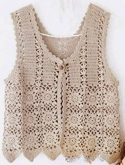 😚💕💕 very delicate in this crochet vest, simple and charming I loved this pattern watch step by step. very beautiful