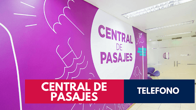 Telefono Central de Pasajes