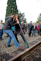 Renton Eastside Rail Corridor - Spike Pull