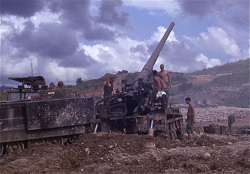 Army 175mm Cannon, 1968