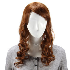 Long Curly Human Hair Wig Capless Virgin Remy Mono Top 6 Colors to Choose (988206) #Banggood