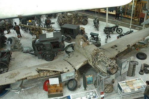 Junkers Ju-87 Stuka wreck at the Auto & Technik museum, Sinsheim