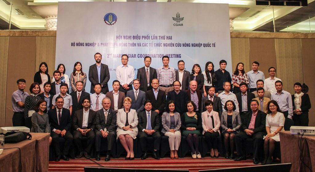 ILRI DDG Dr. Dieter Schillinger to Vietnam, October 2017