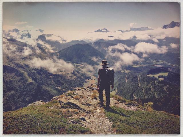 French Alpes / Au dessus des nuages