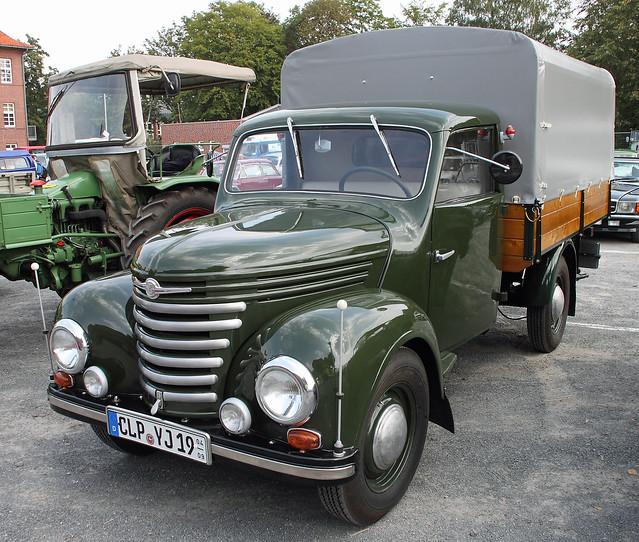 Little east german truck