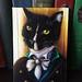 Mr Darcy Tuxedo Cat Painting