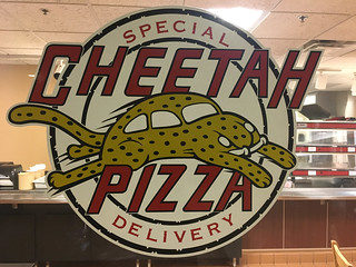 Cheetah Pizza Logo