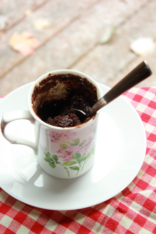 Mug Cake Ingredients