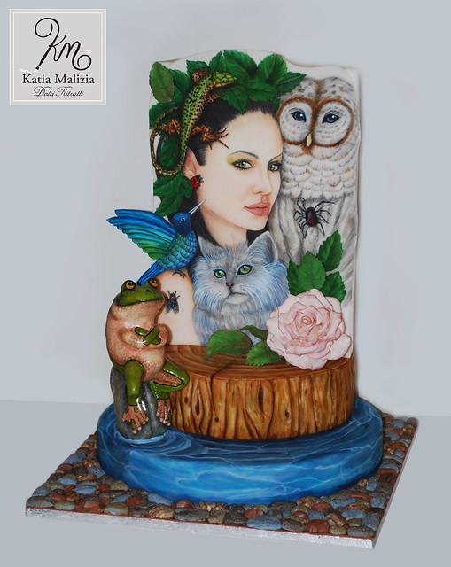 Mother Nature Cake by Katia Malizia