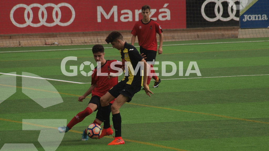 Cadetes. CD Roda 4-1 Alboraya UD (14/10/2017), Jorge Sastriques