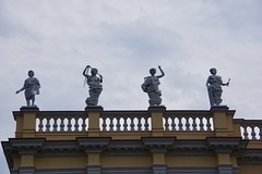 Faceless Statues
