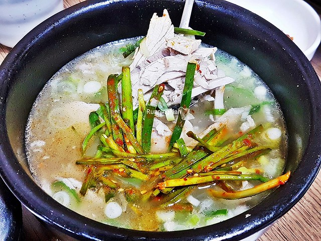 Dwaeji Gukbap / Pork Soup And Rice Original