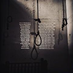 The Execution Chamber; Crumlin Road Gaol. Belfast.