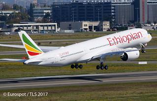 F-WZNL Airbus A350 Ethiopian