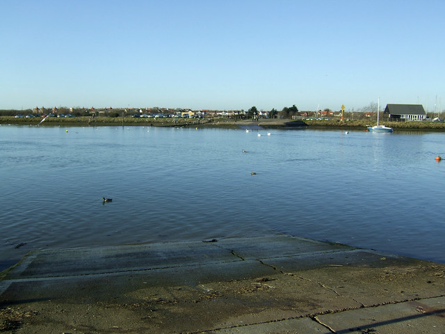 The River Crouch at Hullbridge